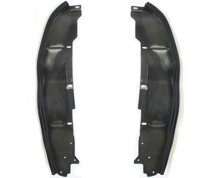 E24 Splash Guards Carbon Fibre