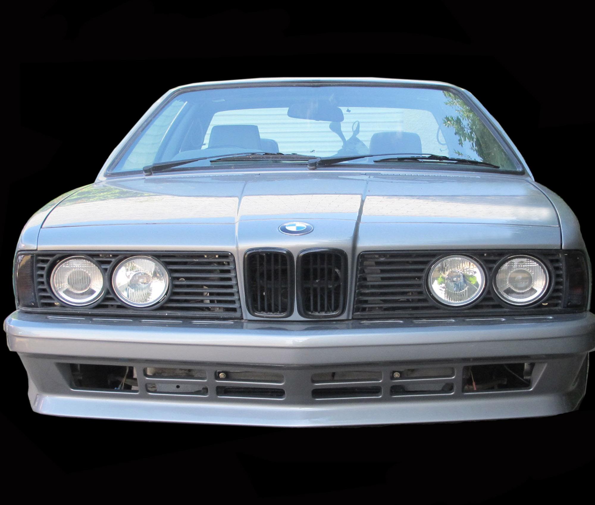 BMW 635 Front bumper spoiler