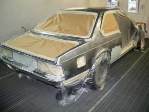 Our E24 bare metal respray