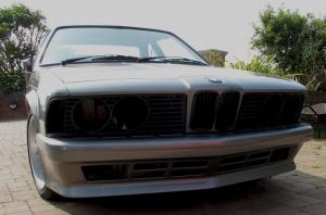 Xmoor Motorsport BMW 635 front bumper spoiler